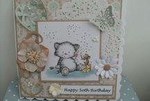 My Handmade LOTV cards / LOTV cards
