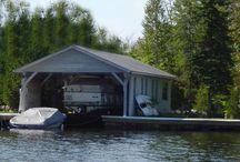 Wet Slip Boat Lifts