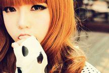 Nicee girls :3 / Japanese, Korean , Chinese or American beautiful girls