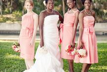 Bridesmaids and Maid of Honor / The close female friends and family that make up your wedding party!