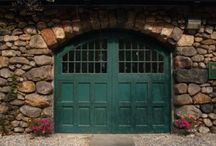 Doors We Love / A collection of our favorite Carriage House Doors.