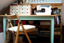 INTERIOR DESIGN Craft Space / Syrum, pysselrum, sewing desk, sewing table, craft room