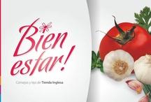 Bien Estar / Para Bien Estar te presentamos recetas ideales para disfrutar cuidando tu salud. / by Tienda Inglesa