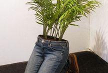 Celana jeans jadi Pot
