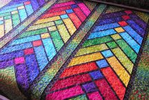 Glas in lood quilt