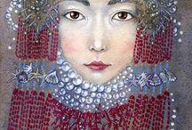 Kazakh art