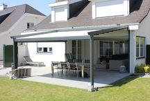 Terrasoverkappingen / Verandazonwering: ideaal om optimaal te genieten van het buitenleven! www.suncircle.nl