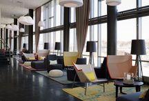 Interior Decor for Lexus South Pointe Business Lounge / Design and decor inspiration for the VIP/Business Lounge in Lexus South Pointe in Edmonton, Alberta, Canada