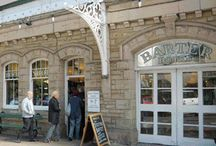Barter Books / Barter Books is a second-hand bookshop located in the historic English market town of Alnwick, Northumberland owned and run by Stuart and Mary Manley. The bookshop is located within the Victorian Alnwick railway station,