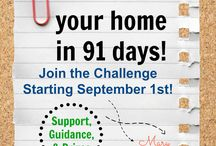 De-Clutter Your Home Challenge / If I can figure out how to do it, I hope to post pics of my progress. :)