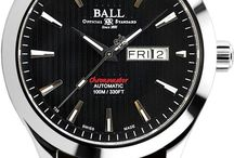 "BALL Watches / BALL Watches Innovation and creativity are the cornerstones on the foundation of BALL watches, ""Accuracy Under Adverse Conditions"". Continuing in the tradition of Webster Clay Ball, BALL Watches aspires to manufacture the most accurate mechanical watches on the planet, ruggedized for use by those that live, work and play in truly adverse conditions.  http://www.jurawatches.co.uk/collections/ball-watch-company-watches"