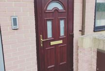 New uPVC doors