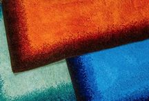 Add color to your kitchen or bath with Grund Designer Rugs