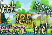 Angry Birds Friends Week 185 no power / Angry Birds Friends Tournament Week 185 all Levels  HighScore  , 3 star strategy High Scores no power up visit Facebook Page : https://www.facebook.com/pages/Angry-birds-for-play/473374282730255 blogger page : http://angrybirdsfriendstournaments.blogspot.com/ twitter : https://twitter.com/carloce_kiven