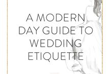 Our favourite Wedding Pins / The party before you depart!