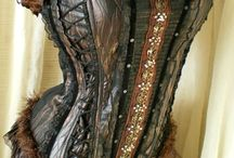 Corsets, waist clinchers, waistcoats and belts