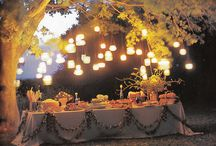 Parties / fabulous party decor + eco-chic ideas / by Yoreganics