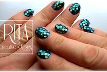 NAILS by RITA creative design.