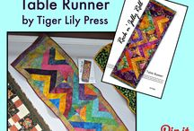 For Your Table / Table runners, place mats, and more