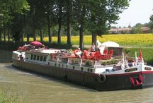Hotel Barge Athos / Athos is a 103ft hotel barge, accommodating 10 passengers in five comfortable, air-conditioned cabins.