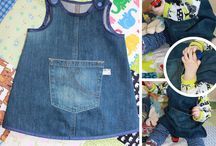 riciclo jeans bambini
