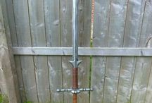 Zweihander inspiration / Larp sword influences
