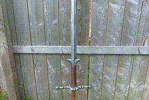 Zweihander inspiration / Larp sword influences