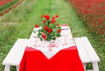 Red weddings / Rouge is the color of love!