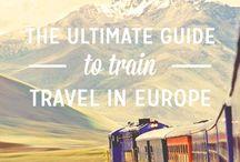 European train Travel