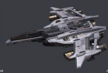 Starships: Fighters / Bombers
