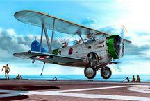 Самолеты старинные