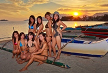 Filipina Girls on the Beach in Subic Bay, Philippines / Some shots from a calendar project that never happened. These girls were wonderful to work with! Happy, smiling, and having a great time getting their photos taken.