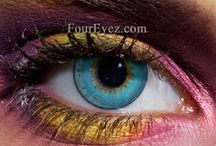 Colored Contact Lenses by Foureyez / Beautiful Bright Colored Lenses by Foureyez.com. Change the color of your eyes with Foureyez lenses.