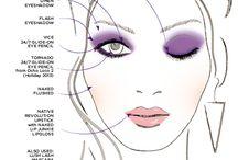 Maquillaje dibujos