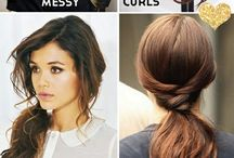 Hair styling idea's & accessories