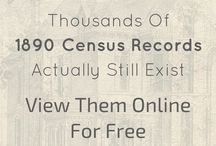 Genealogy Free 1890 census