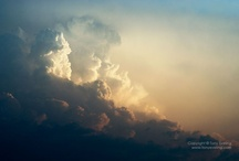 Clouds and skies... / by Tony Eveling