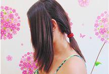 Meus penteados / Que tal dar uma conferida no que ando aprontando na minha cabeleira?
