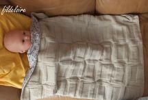 Couverture bébé et nid d'ange
