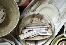 Organic tableware