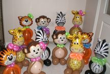 Jungle / Safari Ideas / Balloon Decorations