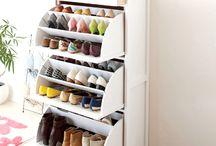 Mueble para guardar zapatos