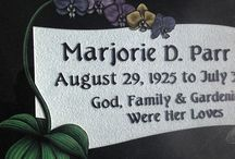 Etched Memorials / Laser and Diamond Etched Memorial Masterpieces from OM Stone