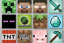 Boys bday Minecraft