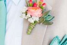 Mint & Coral Wedding