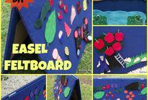 flannel board