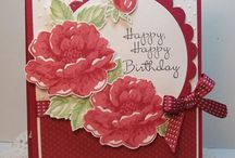Stampinup Stippled Blossoms