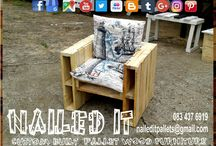 Custom Built Pallet Wood Chairs & Benches / Custom built pallet wood furniture, Durban, Kwa-Zulu Natal. We will build your furniture and decor to your specifications and requirements. Indoor and outdoor. If it's made from wood, we'll build it. #palletfurnituredurban #palletfurnitureamanzimtoti #outdoorpalletfurniture #palletfurniturekzn #custompalletfurniture #palletwoodfurniture #custompalletfurnituredurban #custompalletwoodfurniture   #naileditpalletfurniture #naileditpalletfurniture #custompalletfurniture