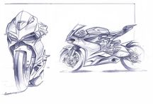 Concept Sketches - Hot 2 bikes / Hot bike sketches