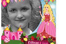Kinderfeestje uitnodigingen / Wil je als kind een prinsessenfeestje, piratenfeestje, discofeestje of misschien wel een cupcake-feestje geven. Neem dan eens een kijkje op dit bord. Er staan verschillende vrolijke kinderfeestkaartjes.